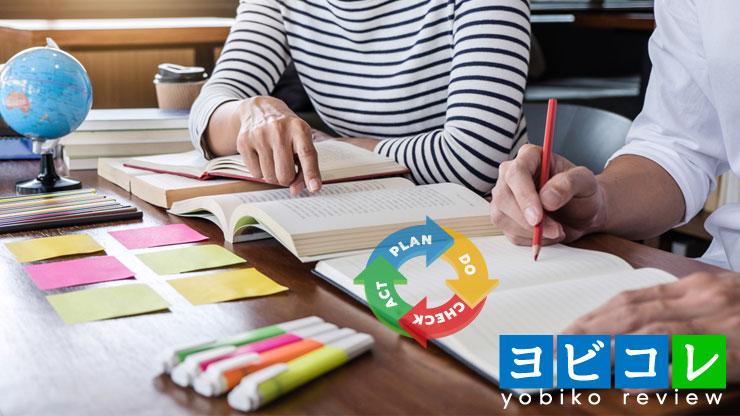 宿題の仕方と学習管理