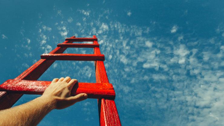 空にはしごをかける