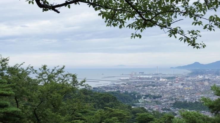 直江津の風景